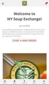 NY Soup Exchange poster