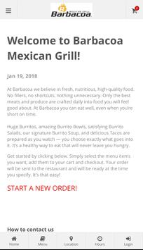 Barbacoa Mexican Grill poster