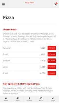 Pizza Barn Elkland screenshot 1