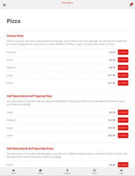 Pizza Barn Elkland screenshot 4
