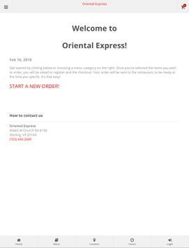 Oriental Express Sterling screenshot 3