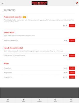 Fire Spot Pizza Ordering screenshot 7