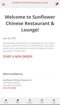 Sunflower Chinese Restaurant poster