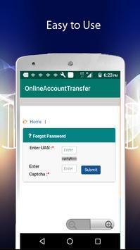EPF Account Transfer apk screenshot