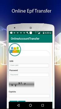 EPF Account Transfer screenshot 2