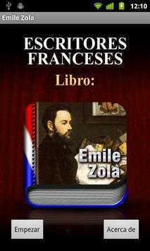 Audiolibro de Émile Zola poster
