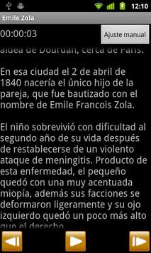 Audiolibro de Émile Zola screenshot 1