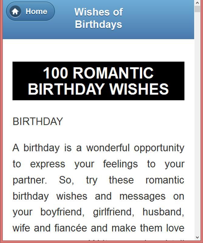 All Type Birthday Wishing SMS Screenshot 13