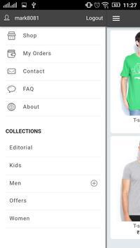Online Fashion Demo screenshot 2