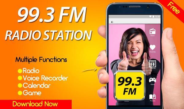 99.3 Radio Station Apps Online Free Radio FM poster