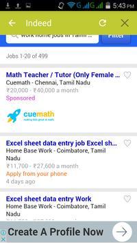 Online Job Tamil Nadu Job Portal Job Alert Chennai apk screenshot