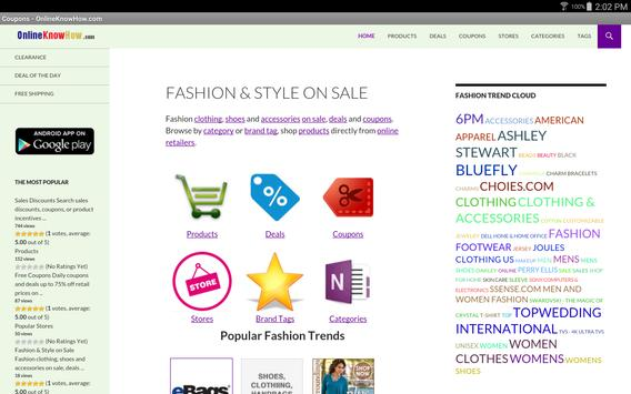 Fashion & Style On Sale screenshot 3