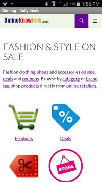 Fashion & Style On Sale screenshot 2
