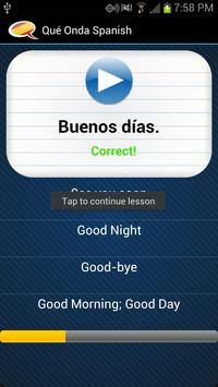 Learn Spanish - Qué Onda screenshot 3