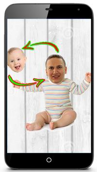 Live Face Baby Swap poster