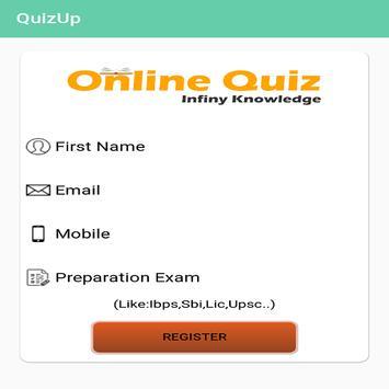 OnlineQuiz apk screenshot