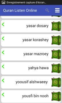 Listen to Quran screenshot 6