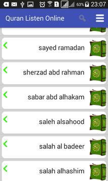 Listen to Quran screenshot 1
