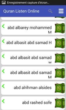 Listen to Quran screenshot 2