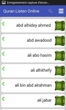 Listen to Quran screenshot 3