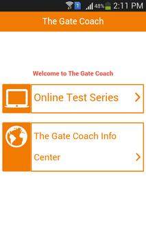 The GATE Coach poster