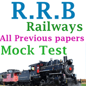 RRB Railways Exams 2018 - PYQP's | MockTest icon