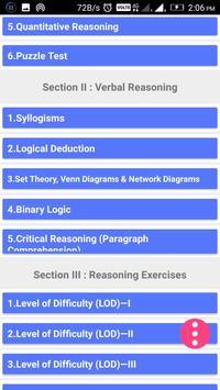 Arun Sharma - Logical Reasoning for CAT Screenshot 1