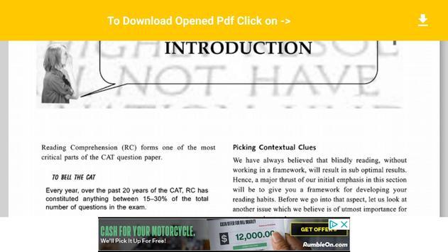 Arun sharma verbal ability reading comprehension para android arun sharma verbal ability reading comprehension imagem de tela fandeluxe Images