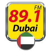 89.1 FM Radio Dubai Online Free Radio icon