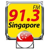 91.3 FM Radio Singapore Online Free Radio icon