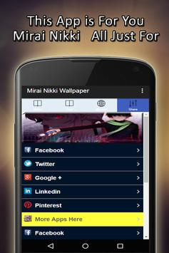 Mirai Nikki Wallpaper apk screenshot