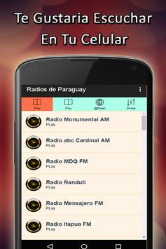 Free Radios Paraguay screenshot 3