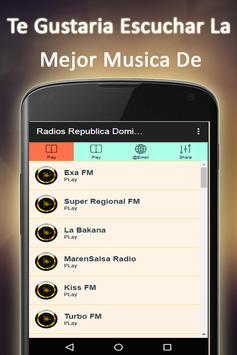 Radio Dominican Republic poster
