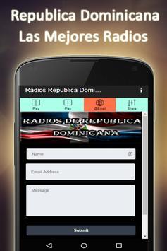 Radio Dominican Republic screenshot 4