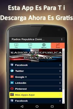 Radio Dominican Republic screenshot 5