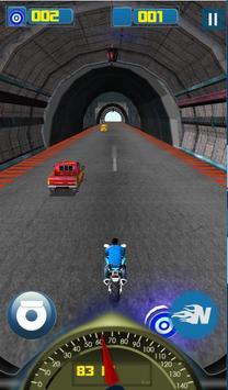 Bike Racer Hightway poster