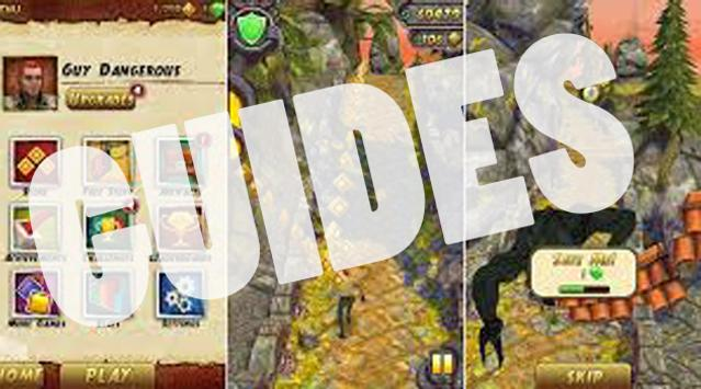 GUIDES Dash 2 : temple run 2 poster