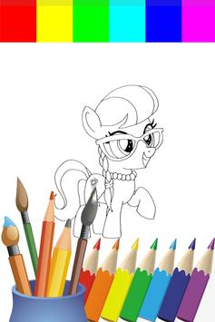 Coloring Book My Ponny Games screenshot 1