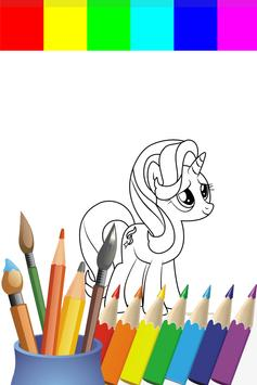 Coloring Book My Ponny Games screenshot 2