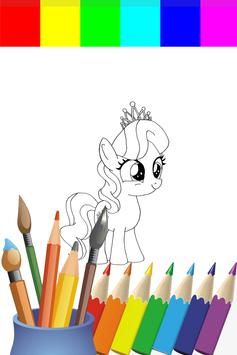Coloring Book My Ponny Games screenshot 3
