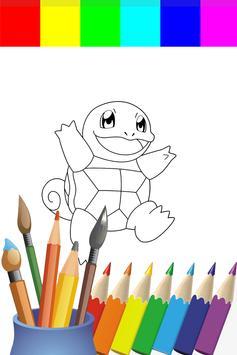 Coloring Book Poket Monster Games screenshot 5