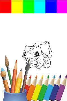 Coloring Book Poket Monster Games screenshot 1