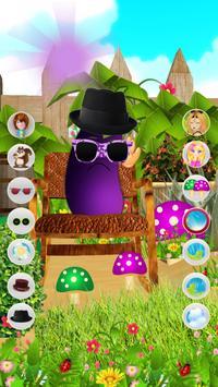 Talking Eggplant apk screenshot