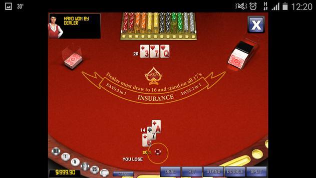Play Blackjack apk screenshot