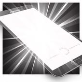 Bright Screen + LED Flashlight icon