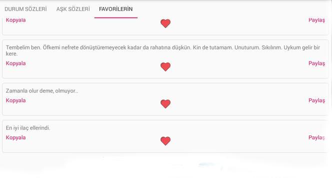 Durum Sözleri screenshot 4