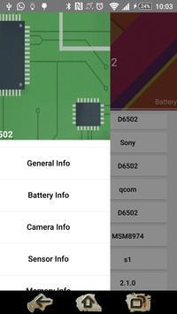 PhoneInfo apk screenshot