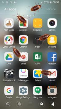 Cockroach in phone prank screenshot 4