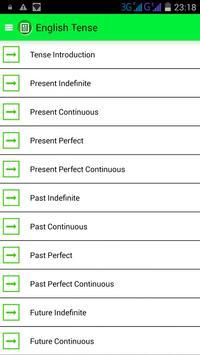 English Tenses screenshot 1