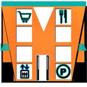 Shopping Mall Navigator icon